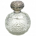 Large Round Perfume Bottle. Click for more information...