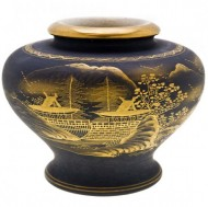 Stunning Japanese Kutani Potpourri. Click for more information...
