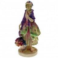 RARE Royal Doulton Phyllis HN 1420 Figurine. Click for more information...