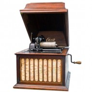 Edison Amberola Phonograph. Click for more information...