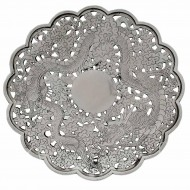 Zee Sung Sterling Silver Dragon Dish. Click for more information...