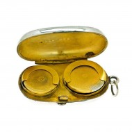 Sterling Silver Sovereign and Half Sovereign Case. Click for more information...