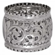 Sterling Silver. Napkin Ring.. Click for more information...