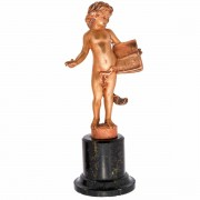 Gilded French Bronze.. Click for more information...