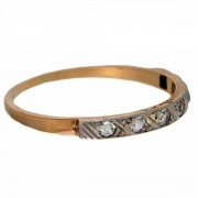 18ct Gold. 7 Diamond. Eternity Ring. Click for more information...