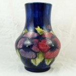 Pansy Design Vase. Click for more information...