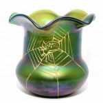 Iridescent Art Glass Vase.. Click for more information...