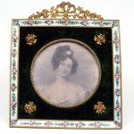 French Gilded and Enamelled Frame. Click for more information...