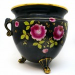 English Porcelain Jardiniere. Click for more information...
